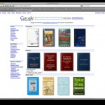 Screenshot of Google Book Search