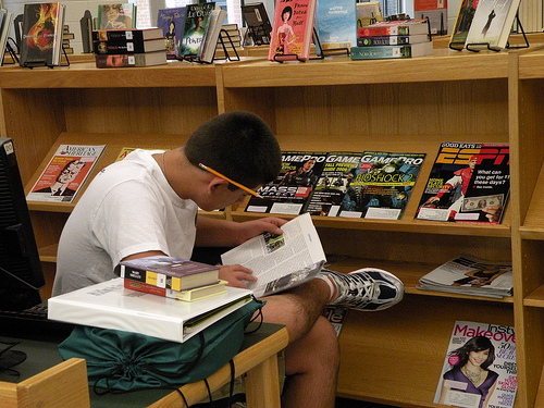 Serendipitous learning and the library