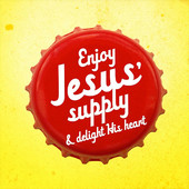 Album cover for Enjoy Jesus' Supply and Delight His Heart