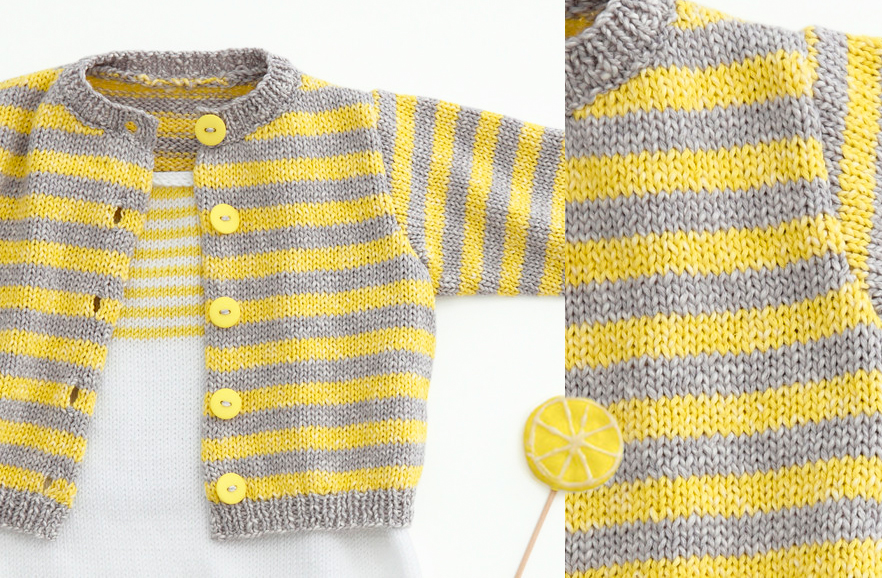 6 Free Knitting Patterns for Baby Sweaters On the Internet | The Knitting Librarian