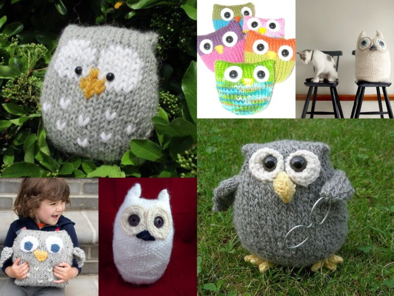 Make Knitted Owls From These 7 Owl Knitting Patterns | The Knitting Librarian