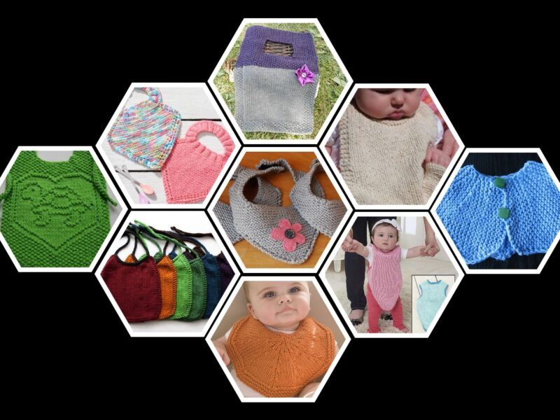 9 Baby Bib Knitting Patterns That Are Quick And Easy