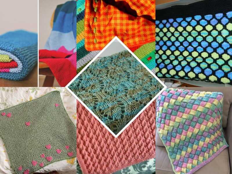 14 Free Baby Blanket Knitting Patterns I Want To Knit
