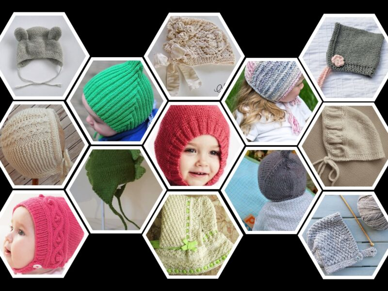 Looking for Free Baby Bonnet Knitting Patterns?