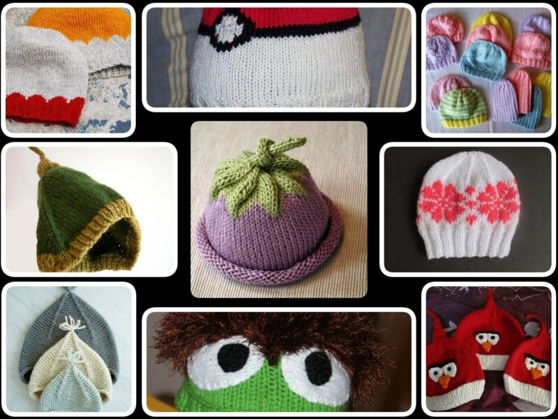 24 Baby Hat Knitting Pattern Ideas Free on the Internet