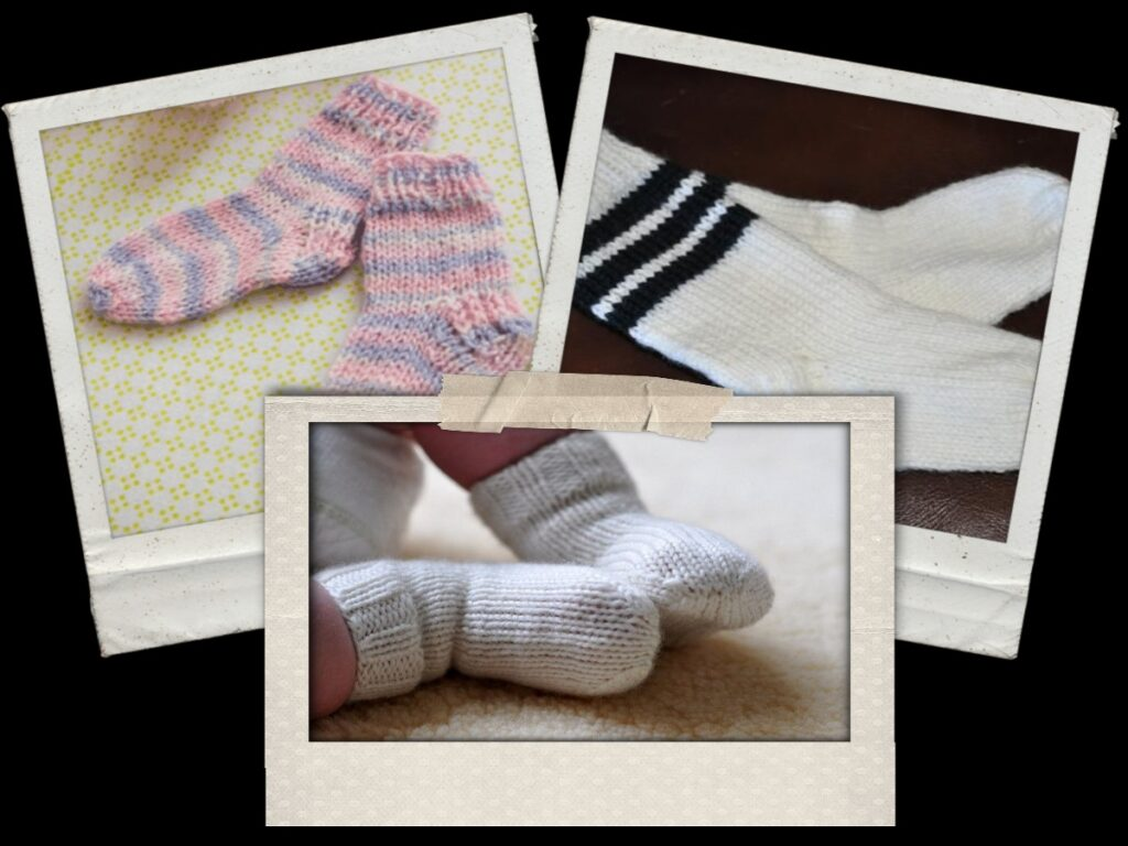 knitting patterns baby socks