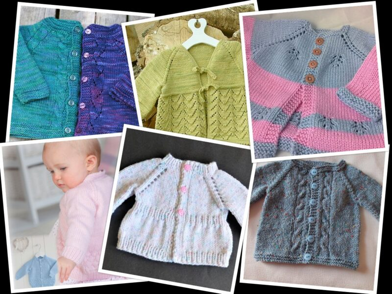 6 Free Knitting Patterns for Baby Sweaters On the Internet