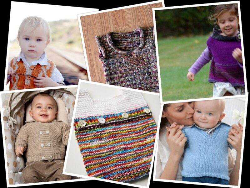 7 Baby Vest Knitting Pattern Ideas From The Internet | The Knitting Librarian