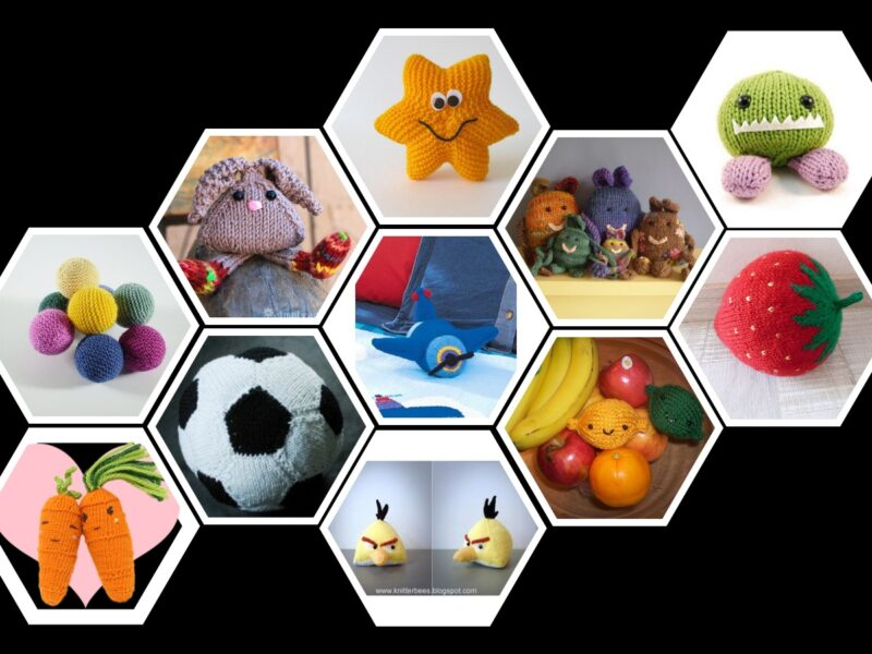 29 Free Toy Knitting Patterns and Toy Knitting Tips