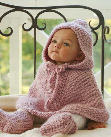 7 Baby Poncho Knitting Pattern Ideas Free on the Internet