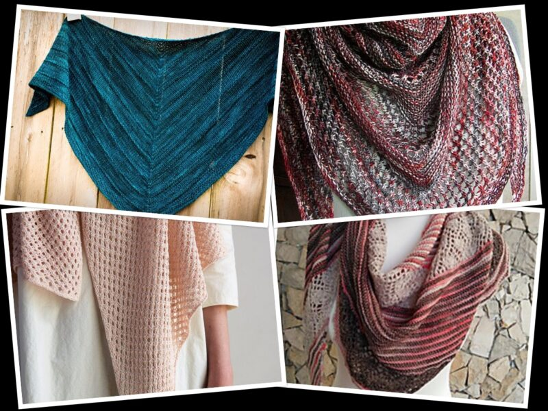 5 Free Knitting Patterns for Shawls On the Internet