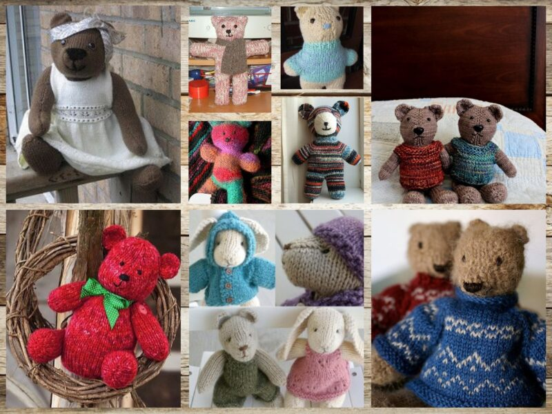10 Free Teddy Bear Knitting Pattern Ideas On The Internet