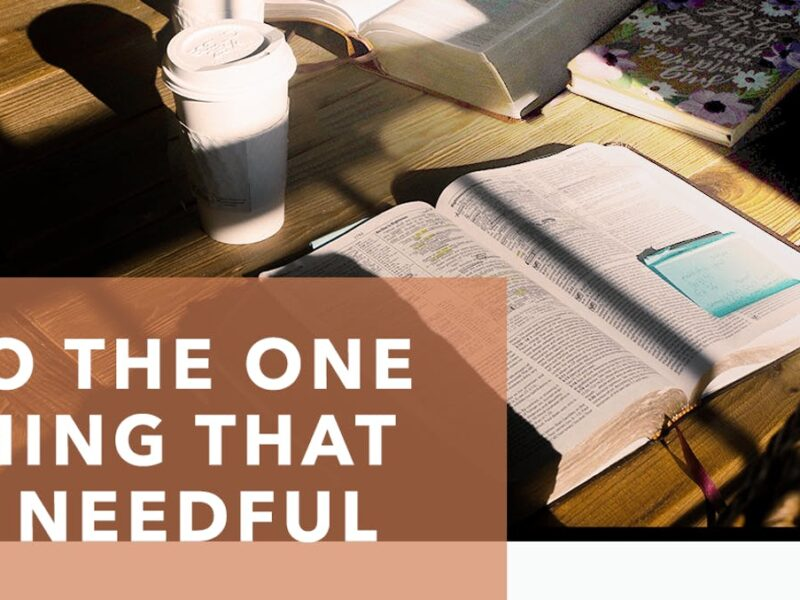 The One Thing Lyrics | New Creation Worship Song